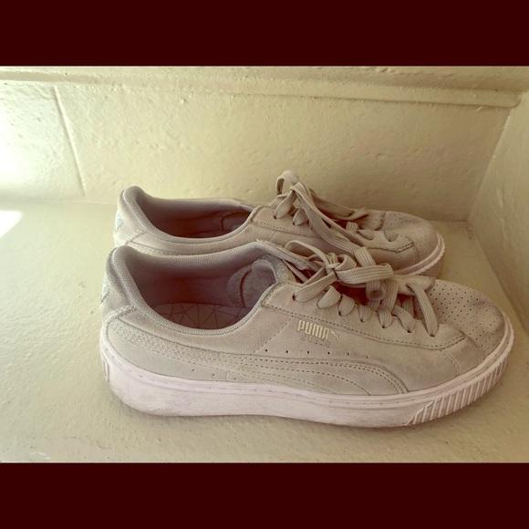 new products fdf41 5345b Puma Shoes - W s Platform Suede Puma